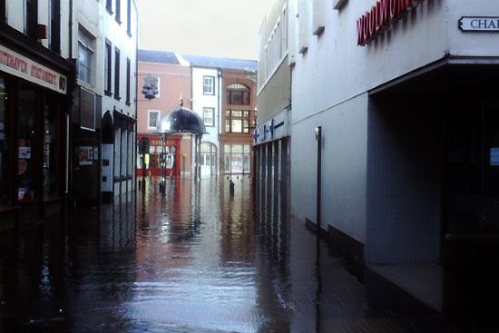Whitehaven Floods 1997