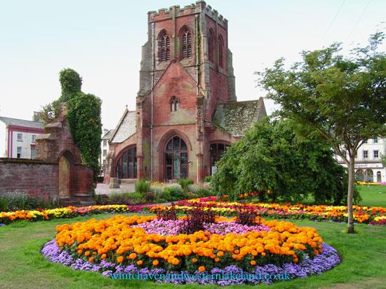 whitehaven gallery st nicholas church gardens