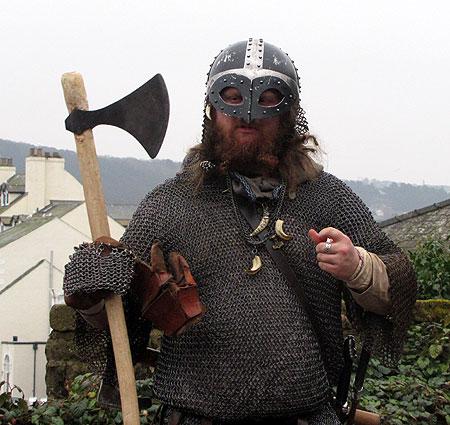 Viking Re Enactment At The Beacon