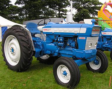 West Cumbria Vintage Rally 2008 Tractors